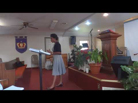 Pastor Rosemary August 13, 2017 Rise Up and Walk Church