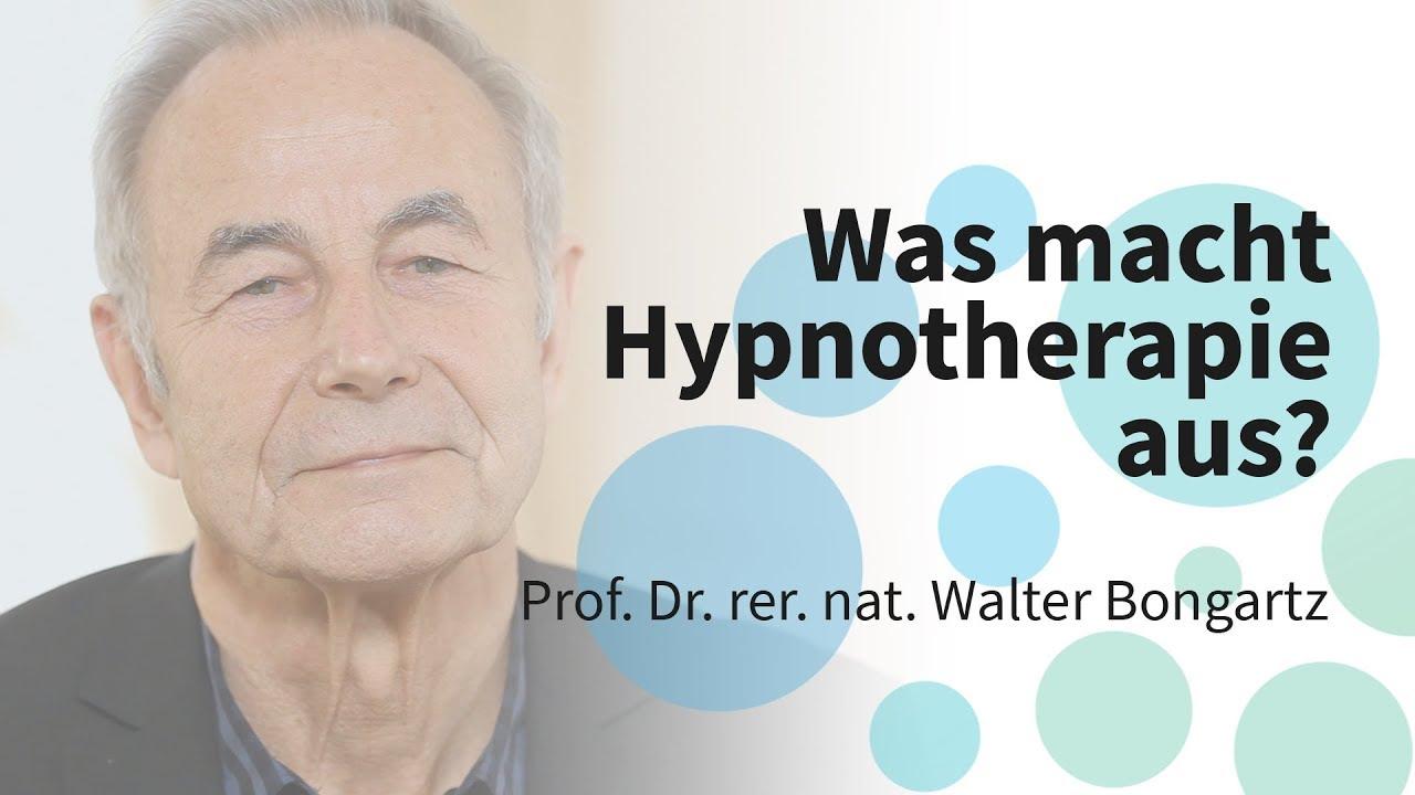 Was unterscheidet die Hypnotherapie von anderen psychotherapeutischen Verfahren?