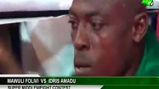 Super Middleweight Contest: Mawuli Folivi vs Idris Amadu ( Asanoah Gyan Fight Night 2)