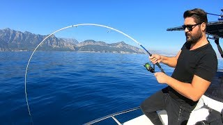 Nihayet Kılıç Balığını Yakaladık / Sword Fish On Light Tackle !!