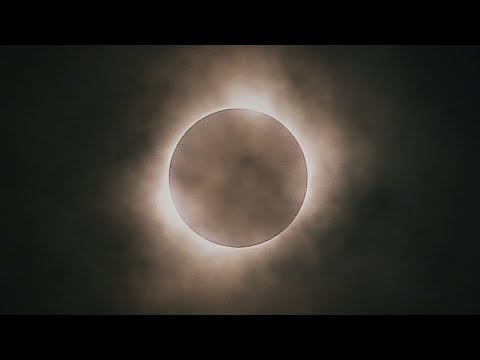 Total Solar Eclipse 2017 | 2:30 Minutes of Totality | Crete, NE. USA