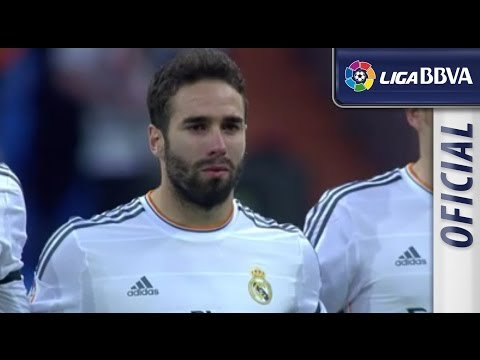 Moment of silence for Carvajal's grandfather