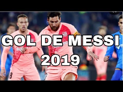 GOL DE BARCELONA VS Getafe / GOL DE MESSI 2019 frente a Getafe ??