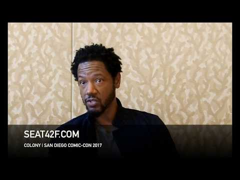 Tory Kittles COLONY Interview Comic Con HD