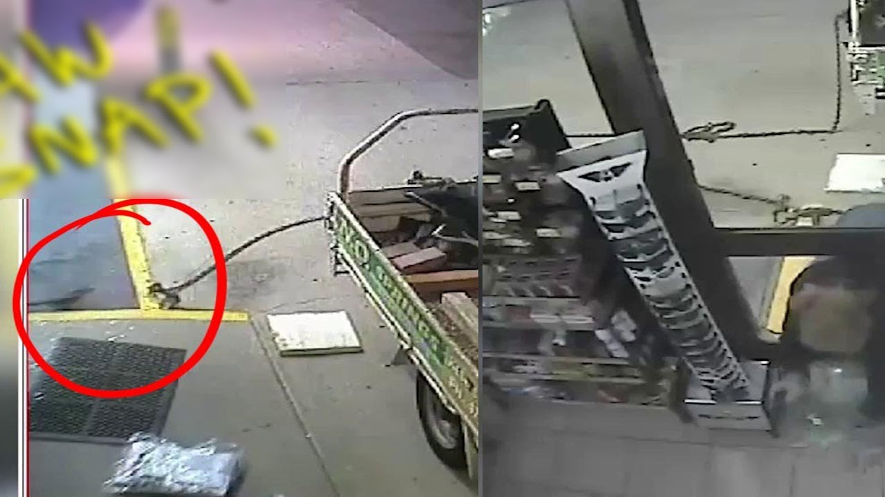 Man attempts to rob gas station, but makes a stupid mistake. animated story, animation, stories,