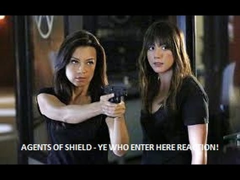 AGENTS OF SHIELD - 2X09 YE WHO ENTER HERE REACTION
