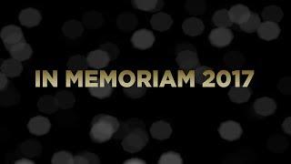 In Memoriam - 2017