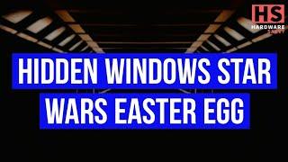 😮 Windows 10 Hidden Star Wars Easter Egg