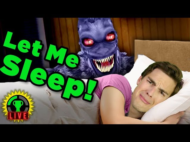 GTLive: Worst Nightmare EVER! | Try To Fall Asleep (Horror Game)