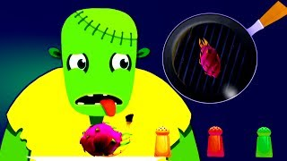 Zombie Cooking Games for Children - Kids Play Fun Kitchen Games and Learn Cooking Yummy Foods
