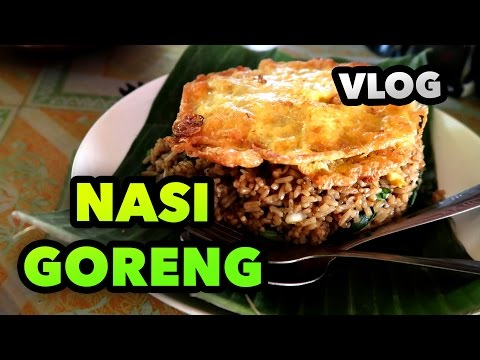 NASI GORENG AND RICE FIELDS - INDONESIA TRAVEL GUIDE DAILY BLOG #48