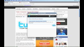Twitter Tutorial 2013 - @ Mentions and Interactions (2/4)