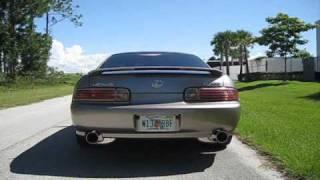 1999 lexus sc400 with 5zigen fireball mega exhaust