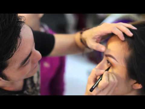 Nguyễn Hùng make up MC Huyền Ny