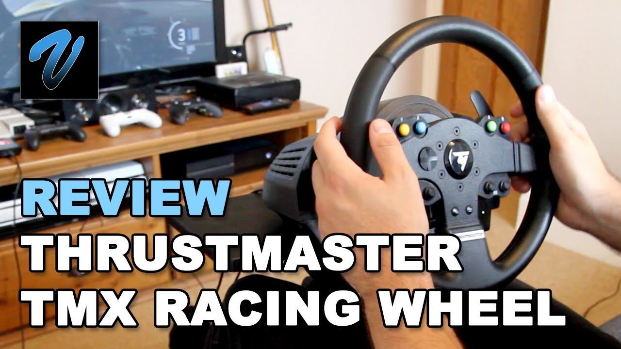 21dc5aa56d7 Thrustmaster TMX Force Feedback Racing Wheel REVIEW! // Forza Motorsport (Xbox  One and PC)