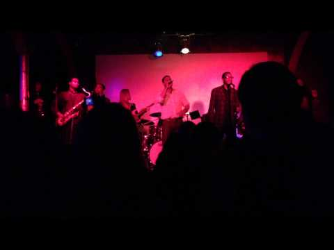 Jon Huertas Singing At His First Live Performance - 08/12/13 (Part 2)