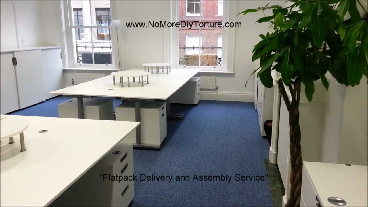 IKEA Flatpack Office Furniture Galant
