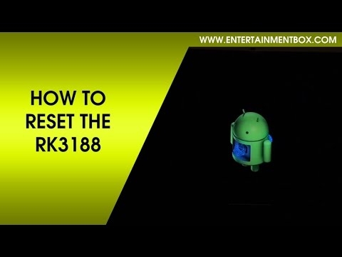 RESET RK3188 Q7 ANDROID TV BOX - ENTERTAINMENTBOX