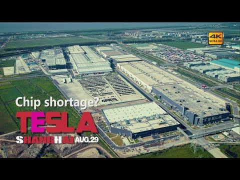 Download Chip shortage? Shanghai factory in semi-stoppage\Teslashanghai\4K # 351