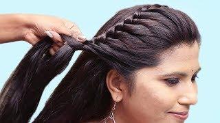 Best Side Braid Hairstyle Tutorials || New Hairstyles videos || Easy Hairstyles videos