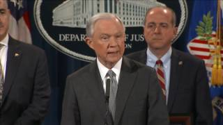 Sessions: 'You drug dealers are going to prison' Free HD Video