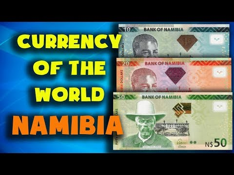 Currency Of The World - Namibia. Namibian Dollar. Exchange Rates Namibia.Namibian Banknotes