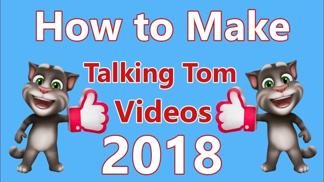 Talking tom video