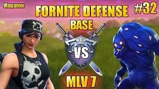 Fortnite Saving the World Defense Morne the Valley 7 in SOLO! #32