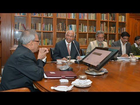 Presentation by Dr. R.A. Mashelkar to President - Part 1 - 24-01-13
