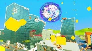 SUPERNOVA DESTROYS LEGO CITY DURING JUDGEMENT DAY! - Brick Rigs Workshop Creations Gameplay