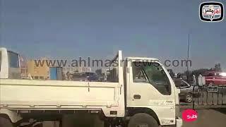 أهل مصر | انتظام حركة السيارات في موقع انفجار مسطرد