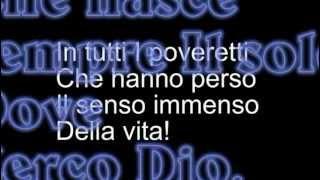 Max Gazzè - Sotto Casa - Video testo a colori.  ♪♪♪