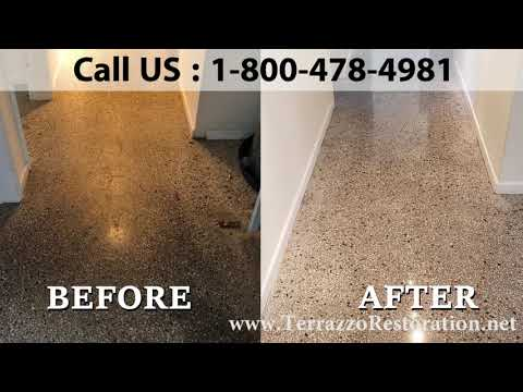 How to Clean Terrazzo Service in West Palm Beach