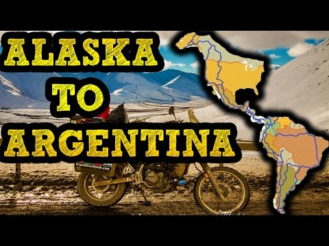 ALASKA TO ARGENTINA by Motorcycle   |   [ Part 14 ]