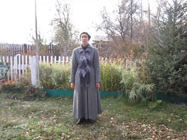 Изображение предпросмотра прочтения – ТатьянаРуссова читает произведение «Дачи осенью» В.Я.Брюсова