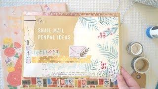 Spring Snail Mail Letter Swap 🌻🌼