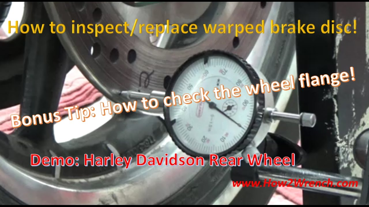got the shakes  how to inspect a warped disc brake rotor