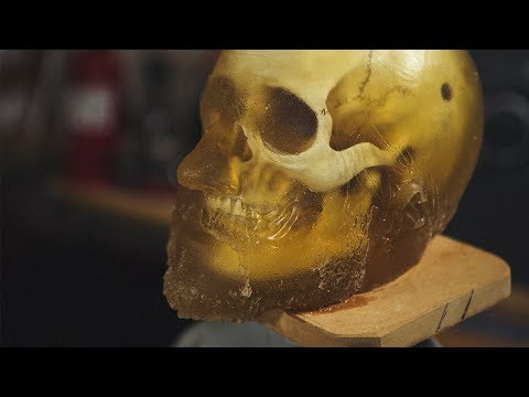 Making A DIY Ballistics Gel Human Head