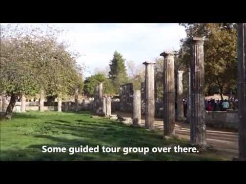 Katakolon Olympia Greece, Ancient Olympic Ruins Part 1