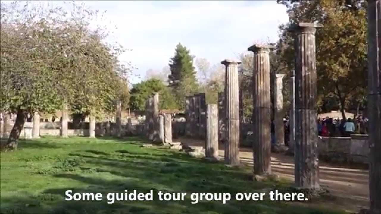 Katakolon Olympia Greece Ancient Olympic Ruins Part 1