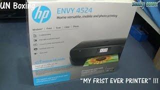 UN Boxing Of HP Envy 4524 Printer /