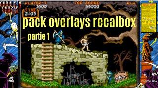 Recalbox 6.1 + 250 Jeux + Overlays HD pour chaque jeux et systèmes + lien du pack partie 1