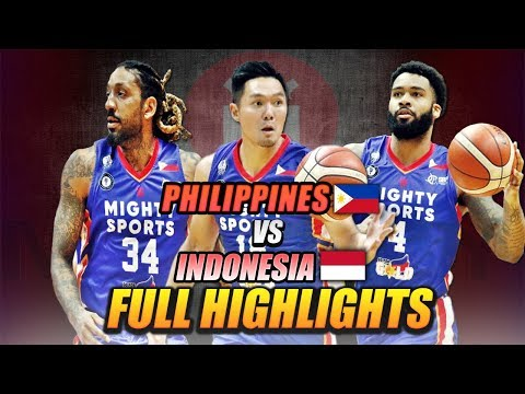 MIGHTY SPORTS PHILIPPINES FULL HIGHLIGHT vs INDONESIA   July 19, 2019   2019 William Jones Cup