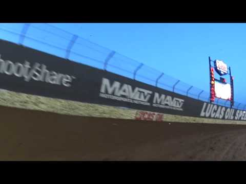 USMTS Jason Hughes In Car Camera Lucas Oil Speedway