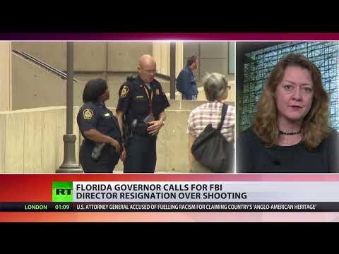 Florida governor calls for FBI director resignation over Parkland shooting