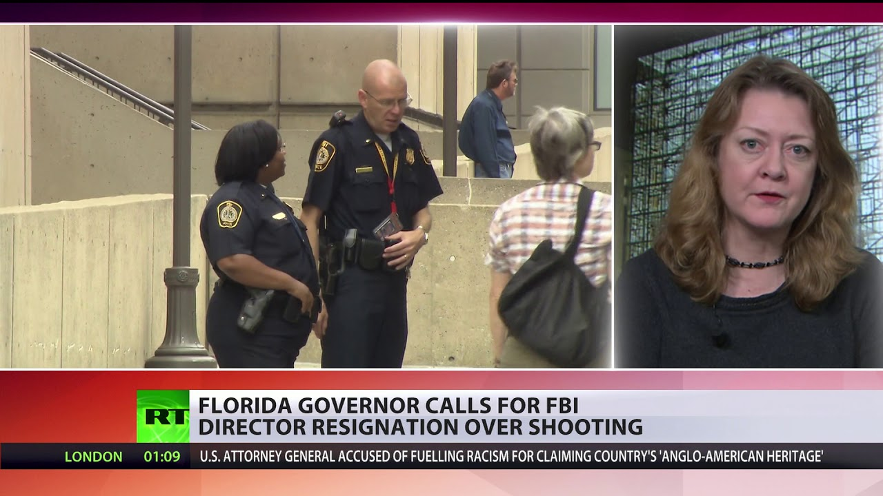 Florida governor calls for FBI director resignation over Parkland shooting