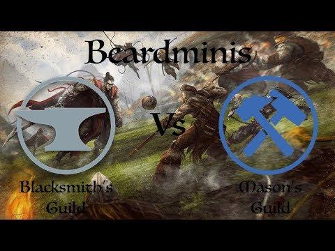 Don't Touch The Beard Episode 8: Blacksmith's Guild Vs Mason's Guild
