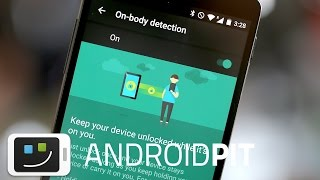 New Android Lollipop security feature: on-body detection