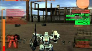 Armored Core Last Raven Gameplay {PS2} {HD 1080p}