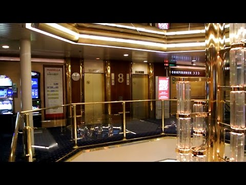 FULL TOUR of the 1985 DAN elevators @ Cruiseferry M/S Mariella (Viking Line)